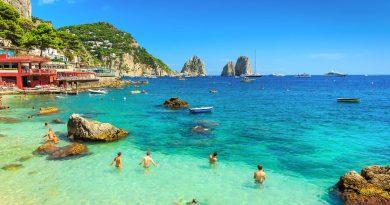 Beautiful Capri Island in Southern Italy
